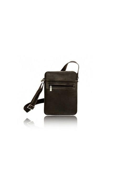 leather messenger bag women